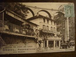 Tourette Sur Loup       Hôtel Du Pont Du Loup     1924 - Autres Communes