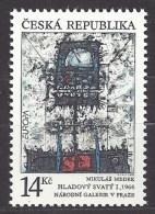 Czech Republic 1993 MNH ** Mi 5 Sc 2881 EUROPA - Modern Art  Mikuláš Medek (1966).Tschechische Republik - Czech Republic