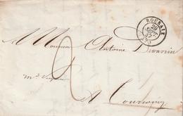 Frankreich / 1847 / Vorphila-Brief K2 ROUBAIX (AD08) - Poststempel (Briefe)