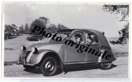 Autos Voitures Automobiles Cars - Photo De Presse Originale - CITROËN 2CV 2 CV - Type A - Années 1949 / 1953 - Cars