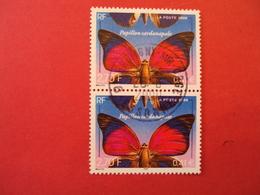 """2000-2009    - Timbre Oblitéré N°  3312    """"   Papillon Sardapanale """" La Paire     Net     1    Photo      1 - France"""