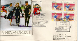 Seahawk Helicopters.Fleet Air Arm (RAN).Nowra Naval Air Station.NSW. Australia, Letter 1999 - Marcophilie