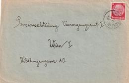 Sudetenland / K1 NEUTITSCHEN Auf Brief (AD19) - Sudetenland