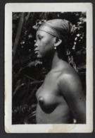 AFRIQUE * CONGO * ETHNIQUE * JEUNE FILLE * NU * MABUDU DE WAMBA * N° 50 * 9.50 X 6.50 CM * SCARIFICATIONS - Africa