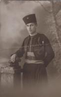 Militaria - Carte-photo - Portrait Militaire Du 9e Régiment De Zouaves - Cachet Photographie Leca à Alger - Regiments