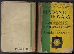 "Di G.Flaubert ""MADAME BOVARY"" Edit.SEL 1933-pp.479-formato 13x19- ""ACCETTABILE""-vedi Le Foto-----(729E) - Bücher, Zeitschriften, Comics"