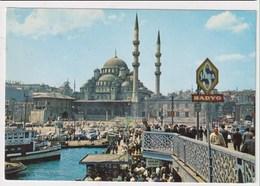 TURKEY  - AK 373240 Istanbul - Galata Bridge And New Mosque - Turkey