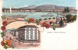 Suisse Geneve Cpa Hotel De Geneve Propriétaire J. Zinner - GE Geneva