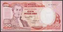 TWN - COLOMBIA 426b2 - 100 Pesos Oro 1.1.1986 UNC - Colombia