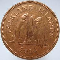 LaZooRo: Falkland Islands 1 Penny 2004 UNC - Falkland Islands