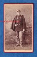 Photo Ancienne CDV Avant 1900 - NANCY - Portrait Etudiant Officier Ecole Eaux Et Forêts - Photographe Thiriot - Anciennes (Av. 1900)