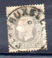 Bélgica Sello Nº Yvert 35 O Valor Catálogo 20.0€ - 1869-1883 Leopoldo II