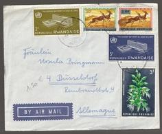 Lettre Du Rwanda Pour L'Allemagne - Rwanda