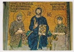 TURKEY  - AK 373256 Istanbul - Byzantine Mosaic From Saint Sophia Museum - Turquie