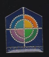 62076-Pin's.Deltacibles.tir à L'arc.. - Tiro Al Arco