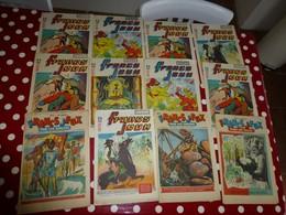 Francs Jeux, 1952 à 1955,  Lot De 12 Numéros   ; L06 - Tarzan