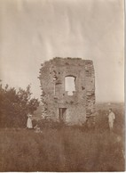 Photo Vers 1900 MONTMOROT (près Lons-le-Saunier) - Les Ruines Du Château (A219, Ww1, Wk 1) - Autres Communes