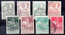 Bélgica Serie Completa Nº Yvert 84/91 O Valor Catálogo 40.0€ - 1910-1911 Caritas