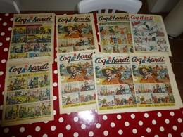 COQ HARDI 1950 à 1954,  Lot De 8 Numéros   ; L06 - Tarzan