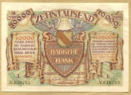 Allemagne 10000 Mark  Mannheim 01 Avril 1923 - [ 3] 1918-1933: Weimarrepubliek