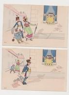 Série Humoristique De 6 Cpa Dessinées,  Illustrateur Paul Dufresne / A L'assaut D'un Tigre !!! - Humor