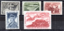 Bélgica Serie Completa Nº Yvert 1032/36 * - Bélgica