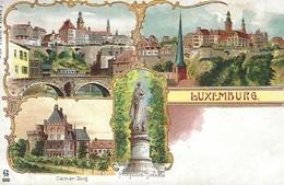 Luxembourg  -  Colmar-Berg  -  C.P. Harff Und Gartz , Köln - 2 Scans - Cartes Postales
