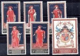 Bélgica Serie Completa Nº Yvert 1102/07 ** - Bélgica