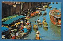 THAILAND FLOATING MARKET NEAR BANGKOK - Thaïlande