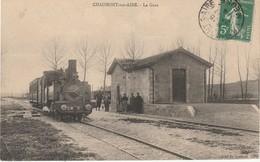 55 Chaumont Sur Aire  La Gare (train) Nest Pas Sur Delcampe - Autres Communes