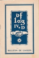 """Bulletin De Liaison """"OFLAG IV D"""" Camp Prisonniers 1939/1945 (Décembre 1949/Janvier 1950) - 1939-45"""