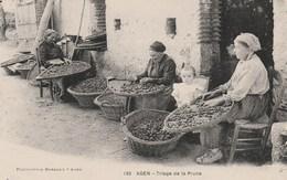 CPA - Le Triage De La Prune - Agen - Paysans