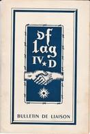 """Bulletin De Liaison """"OFLAG IV D"""" Camp De Prisonniers En Allemagne (juin Juillet 1950) - 1939-45"""