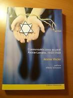 Communautés Juives En Péril-Alsace-Lorraine, 1933-1939-Juif-Judaïca-Hébreux - Livres, BD, Revues