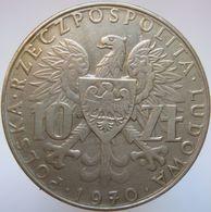 LaZooRo: Poland 10 Zlotych 1970 XF / UNC Unity - Pologne
