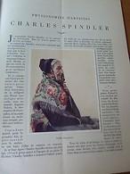 LA VIE EN ALSACE-Charles Spindler-Ottmarsheim-Reubell-1928 - Livres, BD, Revues