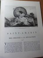 LA VIE EN ALSACE-Spécial Saint-Amarin Et Sa Vallée-Monnaies Romaines... - Livres, BD, Revues