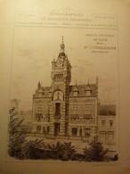 Architecture-Bâtiments Modernes-Hôtel De Ville De Loos-Nord-Mr L. Cordonnier - Books, Magazines, Comics