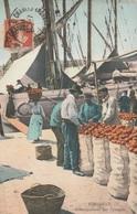 CPA - Débarquement Des Oranges - Port De Marseille - Pêche