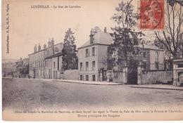 54-LUNEVILLE- LA RUE DE LORRAINE-HOTEL OU HAQUIT LE MARÉCHAL DE BEAUVAU - Luneville