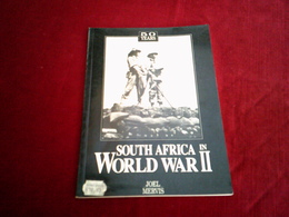 50 YEARS SOUTH AFRICA IN WORLD WAR II  PAR JOEL MERVIS - Forces Armées Américaines