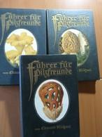 Edmund M. Fuhrer Fur Pilzfreunde. Champignons. Micologie. 3 Vol. 1918 - 1901-1940