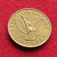 Chile 5 Pesos 1990 KM# 217.2   Chili Peso - Chili