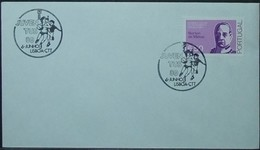 Portugal - Cover 1980 Youth Games Basketball On Cancel - Covers & Documents