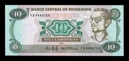Nicaragua 10 Córdobas 1985 (1988) Pick 151 SC UNC - Nicaragua