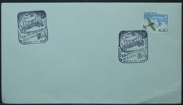 Portugal - Cover 1980 Aviation 6$50 Solo Car Rallye On Cancel Açoteias - Covers & Documents