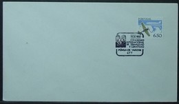 Portugal - Cover 1980 Aviation 6$50 Solo Thermal & Climate Congress On Cancel Póvoa De Varzim - Covers & Documents