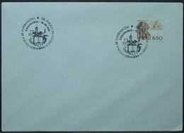 Portugal - Cover 1981 Ceramics 8$50 Solo Nurse School On Cancel Coimbra - Covers & Documents