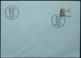 Portugal - Cover 1981 Ceramics 8$50 Solo Theatre FITEI On Cancel - Covers & Documents