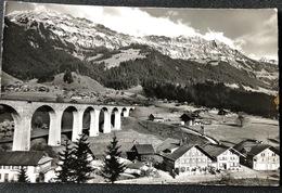 Rainbrücke Bei Frutigen/ Viadukt BLS - BE Berne